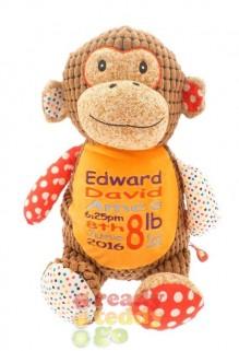 Harlequin Huggles The Brown Monkey