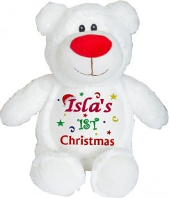 Cubbyford Frost The White Christmas Teddy Bear