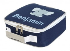 Elephant Any Name Lunch Box Cooler Bag