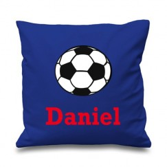 Football Any Name Printed Cushion