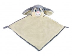 Grey Bunny Rabbit Comfort Blanket