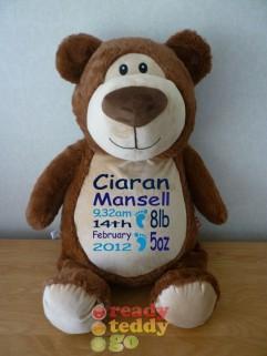 """""""XL"""" Cubbyford The Bear"""