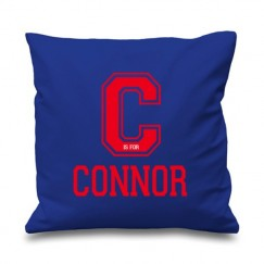 Letter is for Any Name Printed Cushion