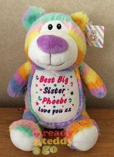 Cubbyford The Rainbow Bear (Pastel)