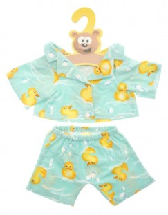 Green Rubber Ducks Pyjamas