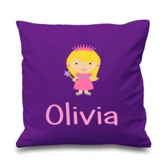 Princess Any Name Printed Cushion