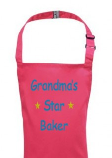 Any Name Star Baker Child's Apron
