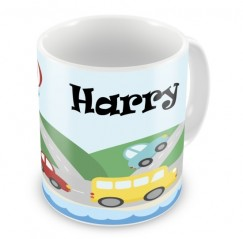 Transport Any Name Mug