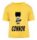 Bat Boy Any Name Childrens Printed T-Shirt