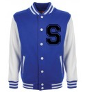 Personalised Junior Stanford Blue Varsity Jacket