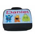 Monsters (Boy) Any Name Lunch Bag