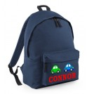 Cars Any Name Childs Rucksack
