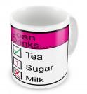 Any Name Drinks..... Mug