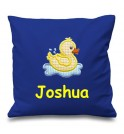 Duck Any Name Embroidered Cushion