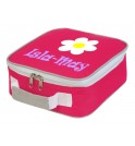 Flower Any Name Lunch Box Cooler Bag