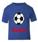Football Any Name Childrens Printed T-Shirt