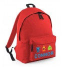 Boy Monsters Any Name Childs Rucksack