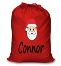 Santa Any Name Printed Christmas Sack