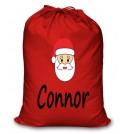 Santa Any Name Printed Christmas Sack
