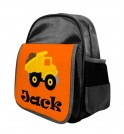 Dump Truck Any Name Childs Backpack