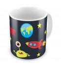 Outer Space Any Name Mug