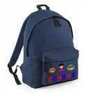 Super Boy Any Name Childs Rucksack