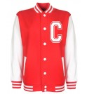 Personalised Junior Stanford Red Varsity Jacket