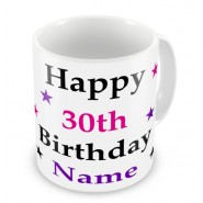 Personalised Happy Birthday Mug Any Age £9.99