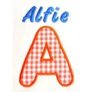 Applique Letter + Name Design