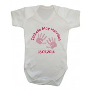Newborn Baby Girl Vest (Choose Design)