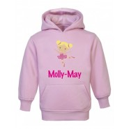 Ballerina Any Name Childrens Hoodie