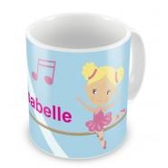 Ballet Dancers + Name Mug