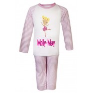 Ballerina Any Name Childrens Pyjamas