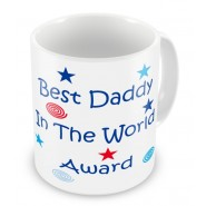 Best Daddy in the World Award Mug