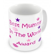 Best Mummy in the World Award Mug
