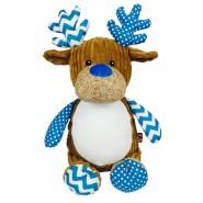 Harlequin Cupcake The Deer (Blue)