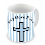 Personalised Christening Boy Mug £9.99
