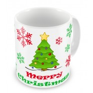 Merry Christmas + Text Mug