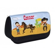Cowboys Any Name Pencil Case
