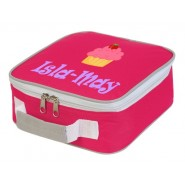 Cupcake Any Name Lunch Box Cooler Bag