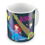 1970's Disco Dancing Any Name Mug