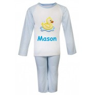 Duck Any Name Embroidered Pyjamas