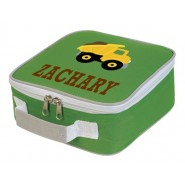 Dump Truck Any Name Lunch Box Cooler Bag