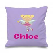 Fairy Any Name Printed Cushion