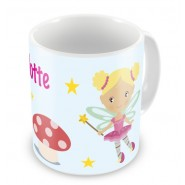 Fairies + Name Mug