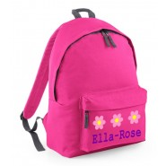 Flowers Any Name Childs Rucksack