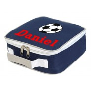 Football Any Name Lunch Box Cooler Bag