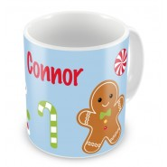 Gingerbread Man House Any Name Mug