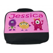 Monsters (Girl) Any Name Lunch Bag