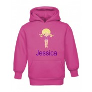 Gymnast Any Name Childrens Hoodie